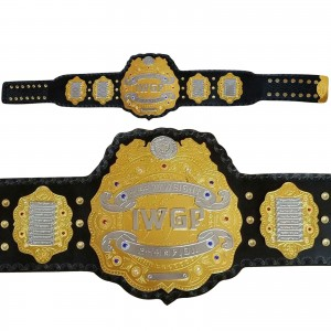 IWGP Heavyweight Championship Title Belt Gold Plated Adult