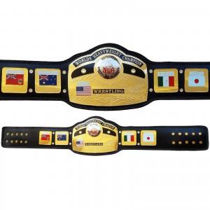 NWA Global World Heavy Weight Championship Belt Replica Adult