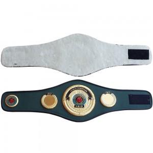 ibo boxing championship belt mini
