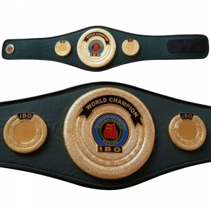 IBO Boxing Championship Replica Belt Adult Synthetic Leather