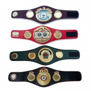 WBA WBO IBF IBO Championships Boxing Belt Replica Mini 4 Belts set