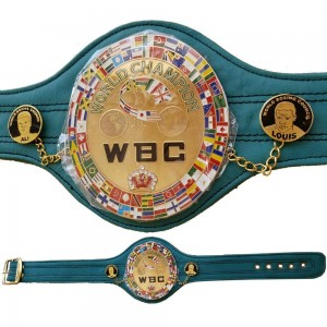WBC Championship Boxing Belt Mini 72 cm Long Green