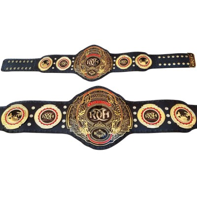 ROH Ring of Honor World Heavyweight Title Champion Belt Replica Adult