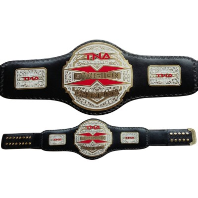 TNA X Division Championship Leather Belt Adult
