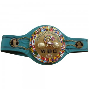 WBC Championship Boxing Belt Jeff Replica 3D Center Plate Adult
