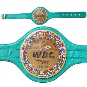 WBC World Boxing Super Series Muhammad Ali Replica 2 mm Brass Plates Adult