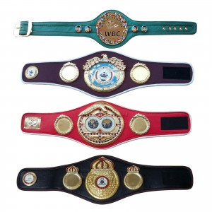 WBC WBA WBO IBF Championships Boxing Belt Replica Mini 4 Belts set