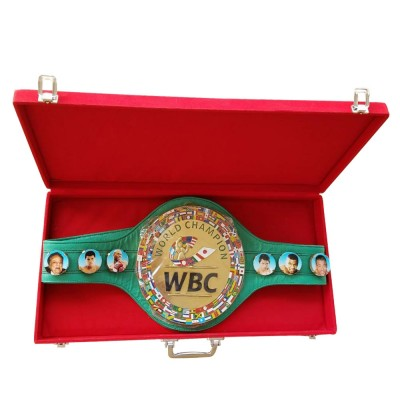 WBC 3D Champion ship Boxing Belt Leather Replica Adult with Box