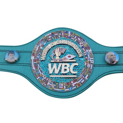 WBC EMERALD Championship Boxing Belt Genuine Leather Replica Mini 72cm Long