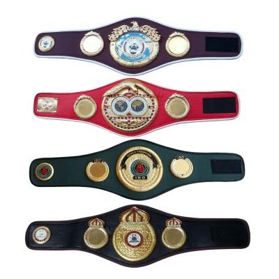 WBA WBO IBF IBO Championships Boxing Belt Replica Mini 4 Belts set